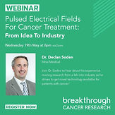 Pulsed electrical fields for cancer treatment: From idea to industry
