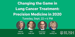 Changing the Game in Lung Cancer Treatment-Precision in Medicine 2020