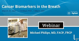 Cancer Biomarkers in the Breath