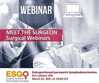 Meet the surgeon: Extraperitoneal paraaortic lymphadenctomies