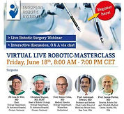 Virtual Live Robotic Masterclass