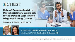 Role of Pulmonologist in Multidisciplinary Approach to the Patient With Newly Diagnosed Lung Cancer
