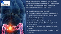 A Focus on Bowel Cancer - Screening, Prevention and Diagnosis