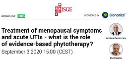 Treatment of menopausal symptoms and acute UTIs - what is the role of evidence-based phytotherapy?