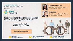 Deactivating Implicit Bias, Eliminating Treatment Disparities in Oncology: The Road Ahead