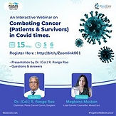 Combating Cancer (Patients & Survivors) in Covid times