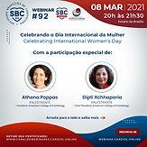 Celebrando o dia Internacional da Mulher /Celebrating International Women's Day