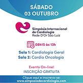 Simpósio Internacional de Cardiologia - Sala 1 – Simpósio Internacional de Cardiologia