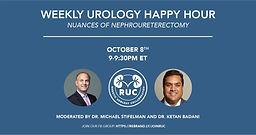 Weekly Urology Happy Hour - Nuances of Nephroureterectomy
