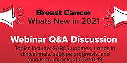 Breast Cancer: What's New in 2021?