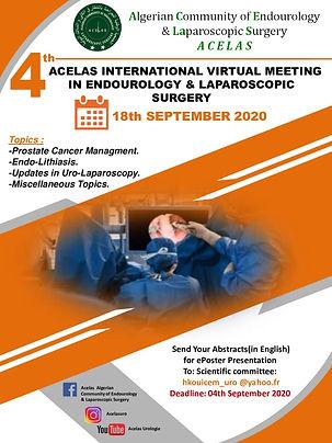 4th Acelas International Virtual Meeting in Endourology & Laparoscopic Surgery