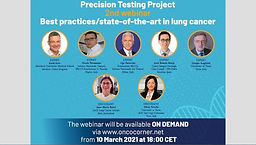 Best practices/state-of-the-art in precision testing in lung cancer