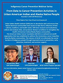 From Data to Cancer Prevention Activities in Urban American Indian and Alaska Native People