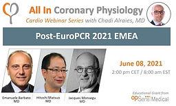 Post-EURO PCR 2021 EMEA