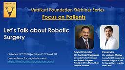 Focus on Patients: Let's Talk About Robotic Surgery