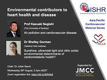 Environmental contributors to heart health and disease