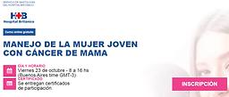 MANEJO DE LA MUJER JOVEN CON CÁNCER DE MAMA