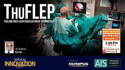 ThuFLEP - Thulium Fiber Laser Enucleation of the Prostate