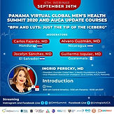 Panama VIRTUAL Global Men's Health Summit 2020 and AUCA UPDATE COURSES. BPH: Just the Tip of the Iceberg