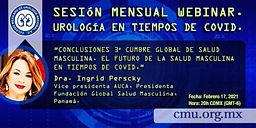 Sesión Mensual Webinar - Urología en Tiempos de COVID