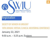 SOCIETY OF WOMEN IN UROLOGY 10TH ANNUAL VIRTUAL CLINICAL MENTORING CONFERENCE
