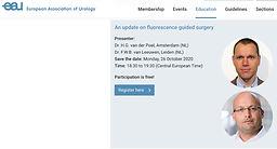 UroWebinar EAU - An update on fluorescence guided surgery
