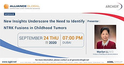 New Insights Underscore the Need to Identify NTRK Fusions in Childhood Tumors