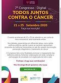 7º Congresso Digital - TODOS JUNTOS CONTRA O CÂNCER