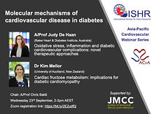 Molecular mechanisms of cardiovascular disease in diabetes