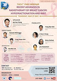 FARO 6th - Recent Advances in Radiotherapy of Breast Cancer: Hypofractionation and IMRT
