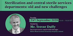 Sterilization and central sterile services departments: old and new challenges