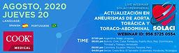 Actualización en Aneurismas de Aorta Torácica y Toracoabdominal