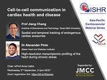 Cell-to-cell communication in cardiac health and disease