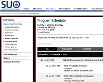 Society of Urologic Oncology 21st Annual Meeting