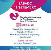 Simpósio Internacional de Cardiologia - Sala 1 – Cardiologia
