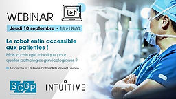 Le robot enfin accessible aux patientes !