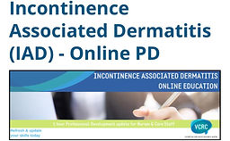 Incontinence Associated Dermatitis (IAD) - Online PD