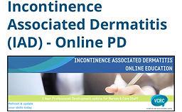 Incontinence Associated Dermatitis (IAD) - Online PD