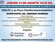 iSGLT2 y su foco cardiorenometabólico