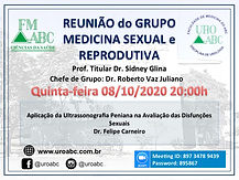 Reunião do Grupo Medicina Sexual e Reprodutiva