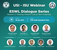 ESWL Dialogue Series, Session 2: Treating Ureteric Calculi Non-invasively