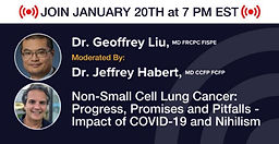 Non-Small Cell Lung Cancer: Progress, Promises and Pitfalls - Impact of COVID-19 and Nihilism