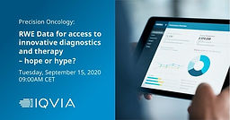 RWE Data for ACCESS to innovative diagnostics and therapy – hope or hype?