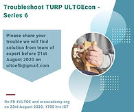 Troubleshoot TURP ULTOEcon - Series 6