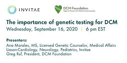 The Importance of Genetic Testing for DCM