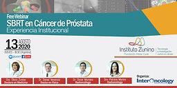 SBRT en Cáncer de Próstata. Experiencia Institucional