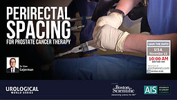 Perirectal Spacing for Prostate Cancer Therapy