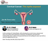 Cervical Cancer: The myths exposed