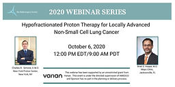 Hypofractionated Proton Therapy for Locally Advanced Non-Small Cell Lung Cancer