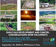 Shale Gas Development and Cancer: Conversations with the Experts